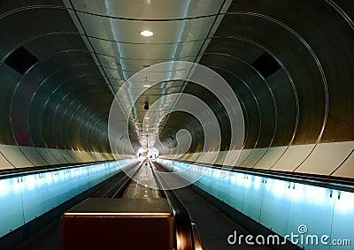 Metro station, Rotterdam