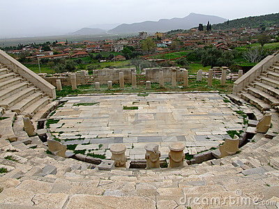 Metropolis ancient ruins theatre