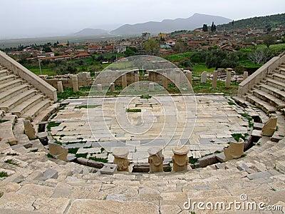Metropolis ancient ruins theatre