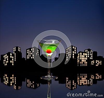 Metropolis Apple Martini