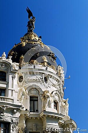 Free Metropolis, Madrid Spain Stock Photography - 17792672