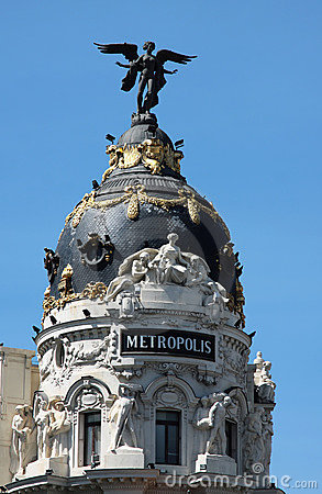 Metropolis palace in madrid