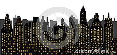 Metropolis - skyscrapers