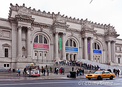 Metropolitan Museum New York City Editorial Photography