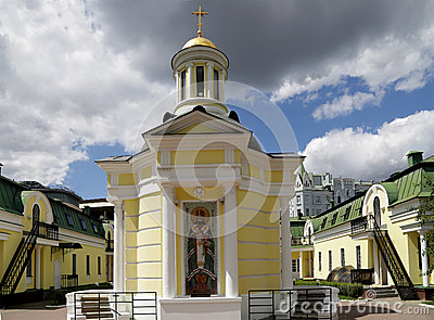 Metropolitan Philip s Church in Moscow