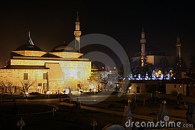 The Mevlana Museum in Konya.