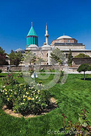 Mevlana Museum And Mausoleum At Konya Turkey Royalty Free