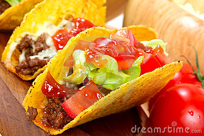 Mexicaanse burrito dichte omhooggaand