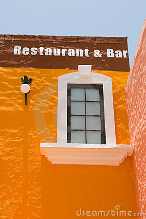 Mexican Bar Building