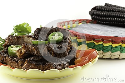 Mexican Beef Short Ribs barbecue