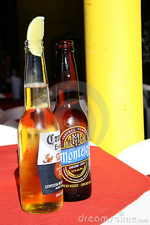 Mexican Beer Editorial Stock Image