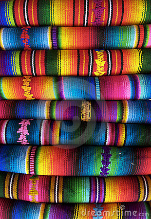 Free Mexican Blankets Stock Photography - 18089852