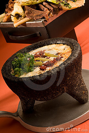 Free Mexican Cheese Fondue Royalty Free Stock Image - 10054196