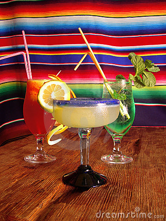 Free Mexican Cocktails Stock Image - 6407501