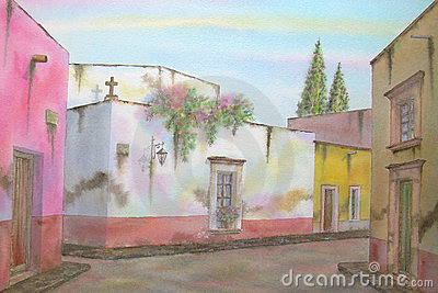 Mexican Colonial Town