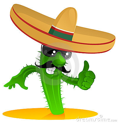 Free Mexican Cool Cactus Stock Photos - 15285313