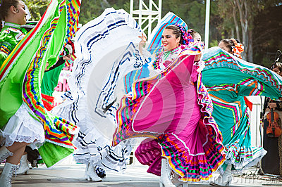 Mexican Dancers Editorial Stock Photo