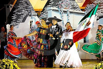 Mexican Dancers and singers Editorial Image