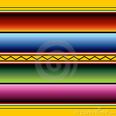 Free Mexican Fabric Pattern Stock Images - 19104204