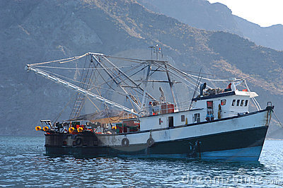 Mexican Fishing Boat