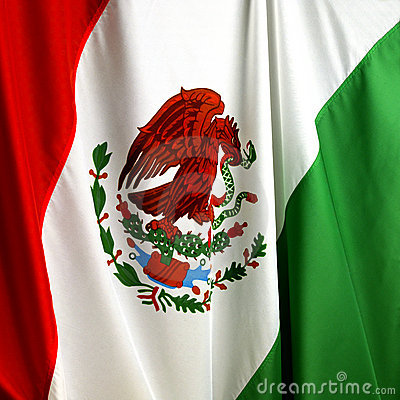 Free Mexican Flag Royalty Free Stock Images - 12236549
