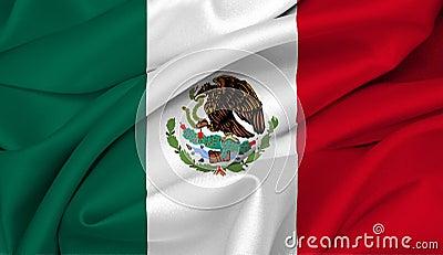 Mexican flag - Mexico