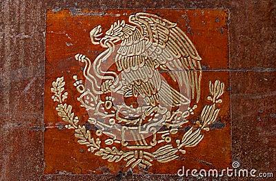 Mexican flag symbol