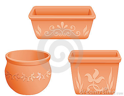 Mexican Flowerpots
