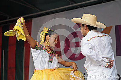 Mexican folkloric ballet Editorial Stock Photo