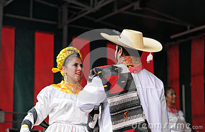 Mexican folkloric dance Editorial Photography