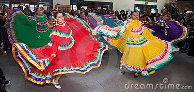Mexican Folkloric Dancers Editorial Stock Image
