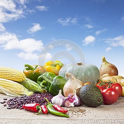 Free Mexican Food Ingredients Stock Image - 32668221
