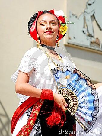 Mexican girl Editorial Photo