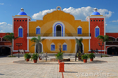 Stock Photos Mexican House Image3066513 on la hacienda house plan