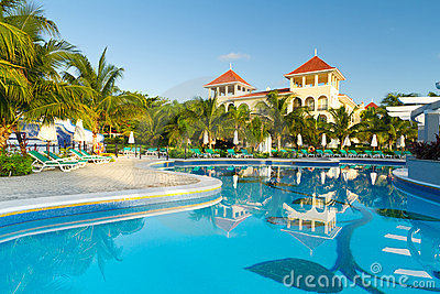 Mexican luxury resort