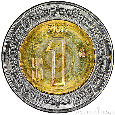 Free Mexican Peso Royalty Free Stock Image - 31115886