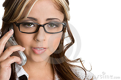 Mexican Phone Woman