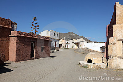 Mexican pueblo village