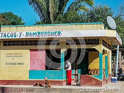 Mexican shop Editorial Photo