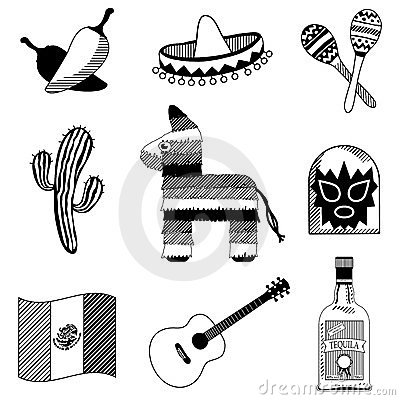 Mexican silhouettes