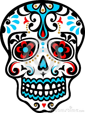 Free Mexican Skull Royalty Free Stock Photography - 29725017