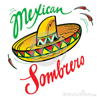 Free Mexican Sombrero Stock Photography - 26288832