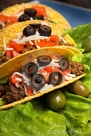 Free Mexican Tacos Royalty Free Stock Image - 3806826