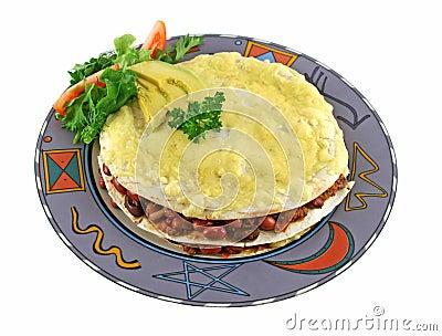 Mexican Tortilla Stack 1