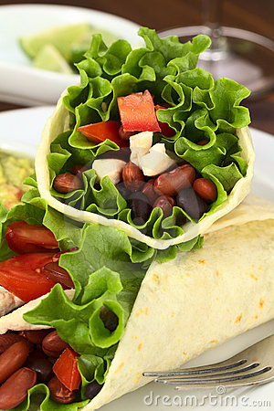 Mexican Tortilla Wrap