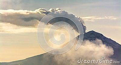 Mexican Volcano Popocatepetl