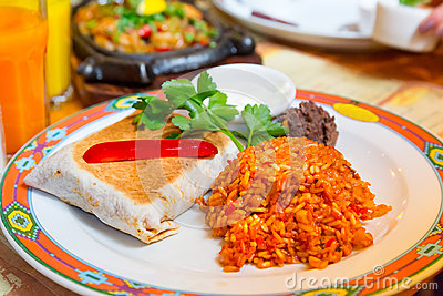 Mexicanska burritos
