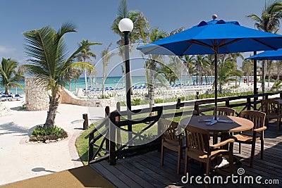 Mexico beach cafe