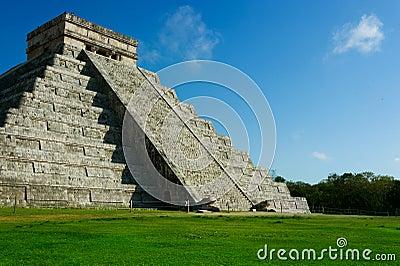 Mexico. Chichen Itza Mayan Pyramid