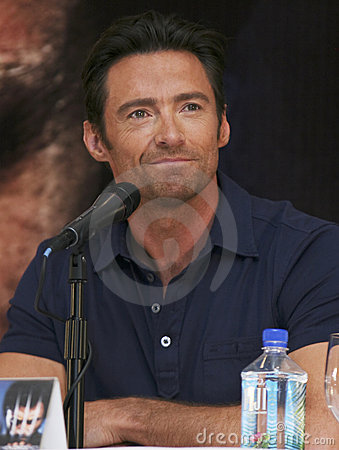 Free MEXICO CITY Actor Hugh Jackman Royalty Free Stock Photo - 9602575